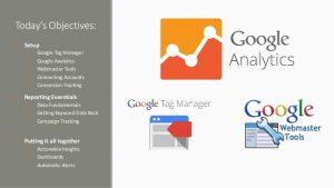 استفاده از گوگل آنالیتیکس و ابزار گوگل وبمستر