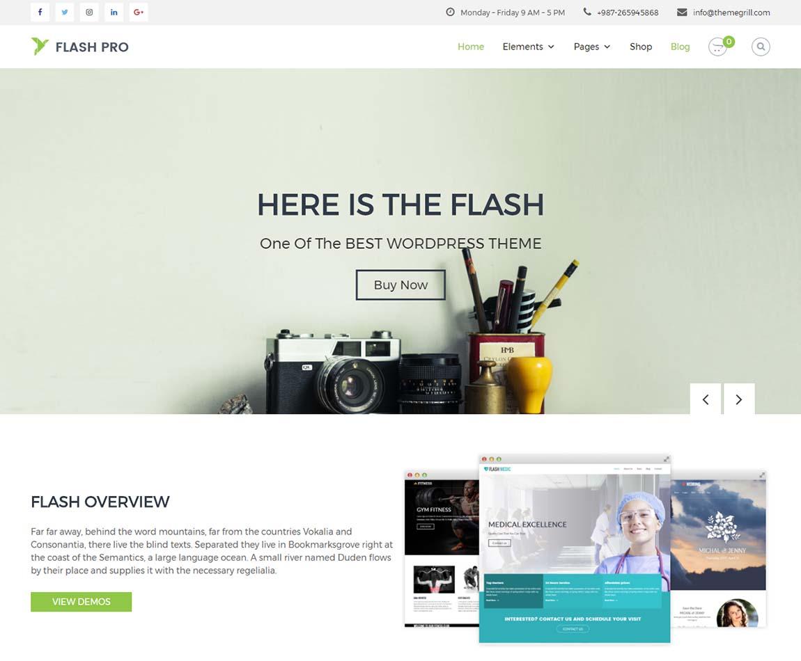 Flash-Pro-most-flexible-best-wordpress-theme